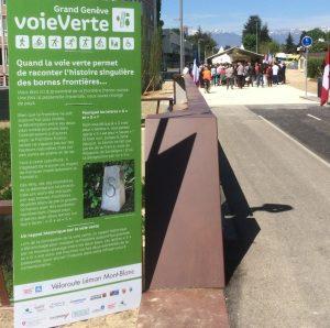 Voie verte site 300x298 - La Voie Verte du Grand Genève est ouverte !