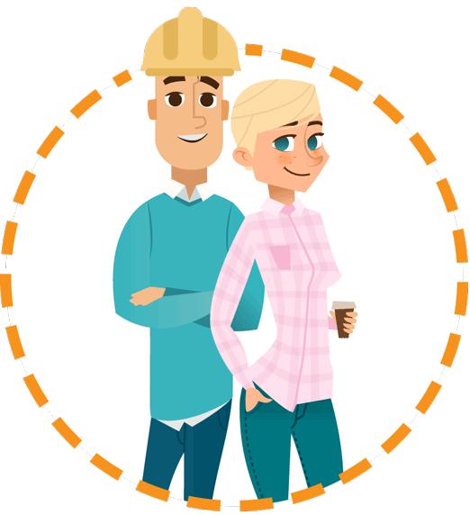 personnages renovation - Rénovation énergétique