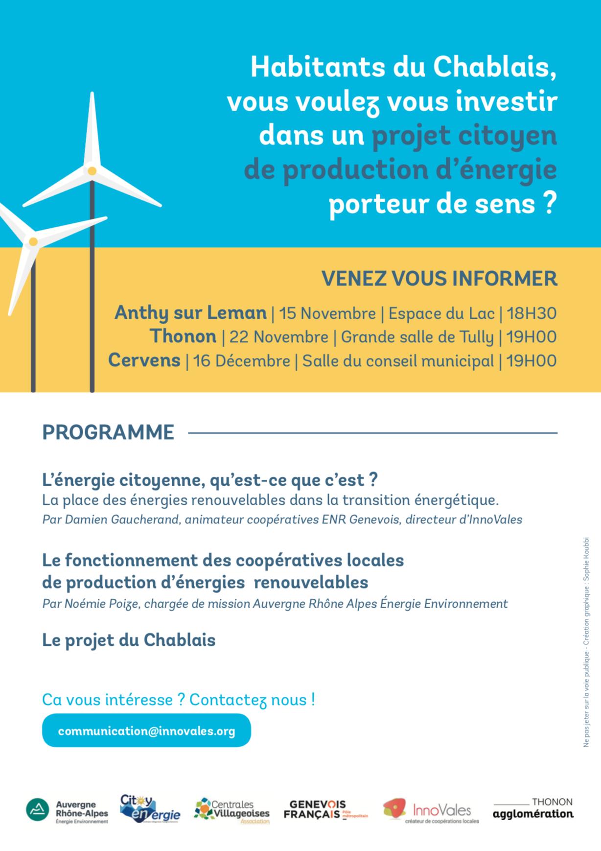 Capture decran 2019 10 18 a 08.44.09 - Lancement d'un projet de coopérative citoyenne de production d'énergie renouvelable dans le Chablais !