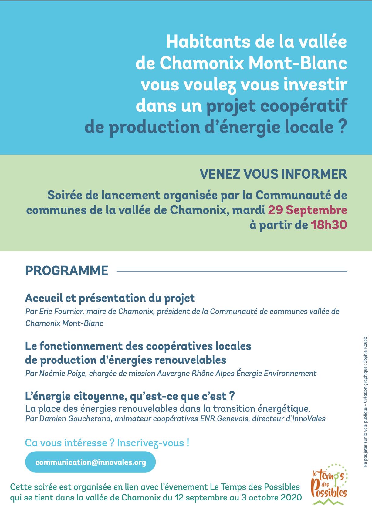 Capture decran 2020 09 16 a 17.41.09 - Lancement d'une coopérative citoyenne de production d'énergie solaire photovoltaïque dans la Vallée de Chamonix